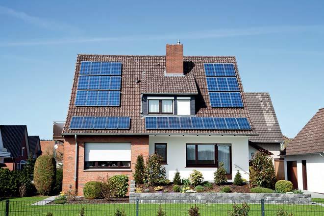 Maison avec panneaux solaires Gettyimages©Kerstin-Klaassen